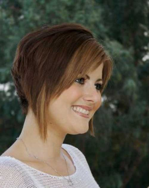 Inverted Bob with Bangs-6