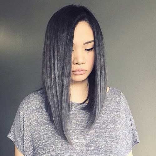 25 Latest Long Bobs Hairstyles Bob Hairstyles 2018