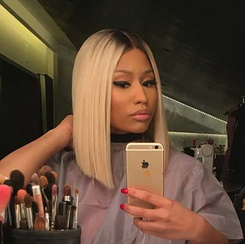 Nicki Minaj Blonde Bob-7