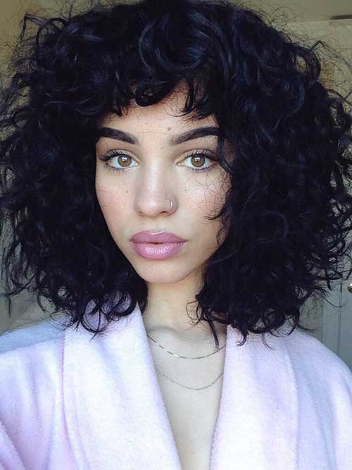 Superb 25 Latest Bob Haircuts For Curly Hair Bob Hairstyles 2015 Hairstyles For Men Maxibearus