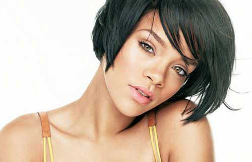 Rihanna Bob Haircut-8