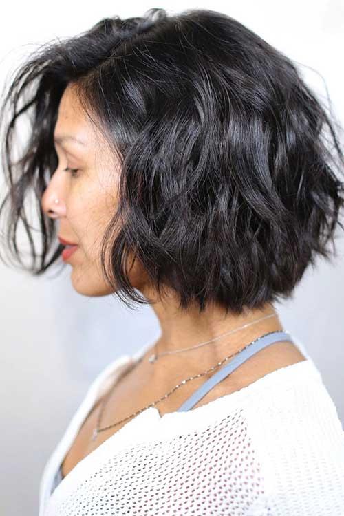 Brunette Bob Hairstyles-9
