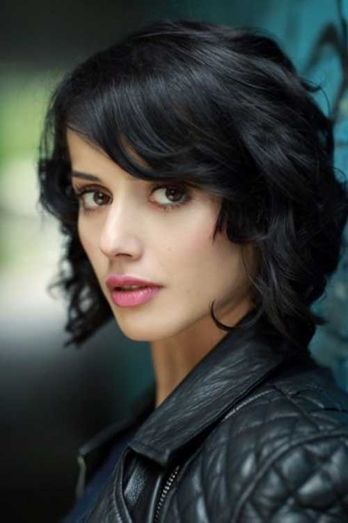 Dark Brown Bob Hairstyles-9