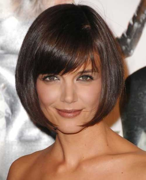 Katie Holmes Bob with Bangs-9