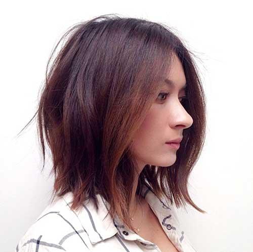 Bob Haircut Brunette
