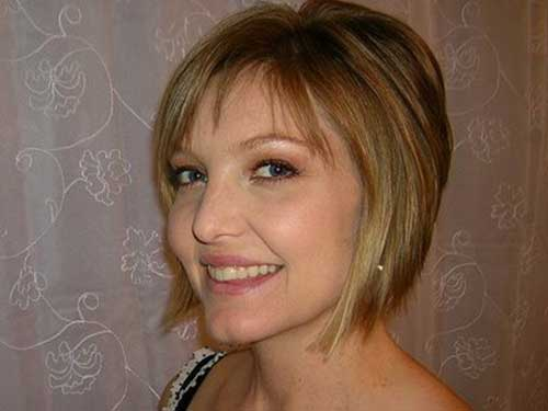 Inverted Bob Hairstyles with Bangs