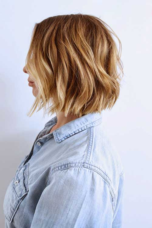 Latest Wavy Hair Bob