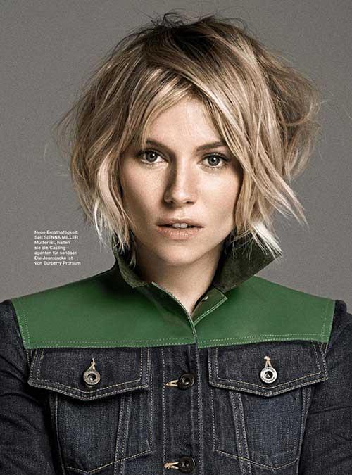 Sienna Miller Bob Hairstyle