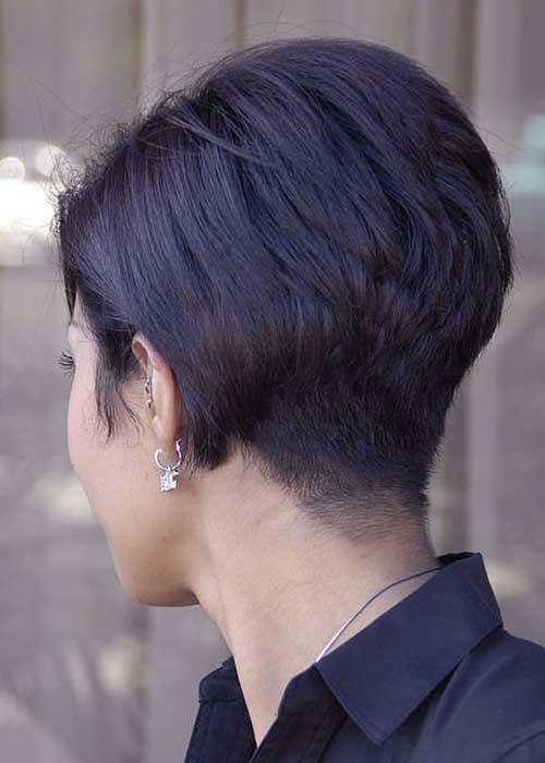 Bob Hairstyles Back View-16