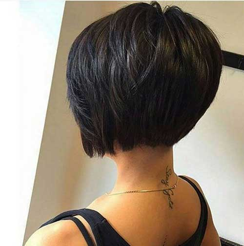 2017 Short Bob Haircuts additionally Flat Twist Short Hairstyles ...