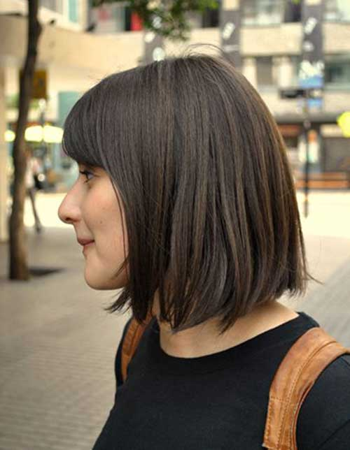 Short Bob with Bangs-6