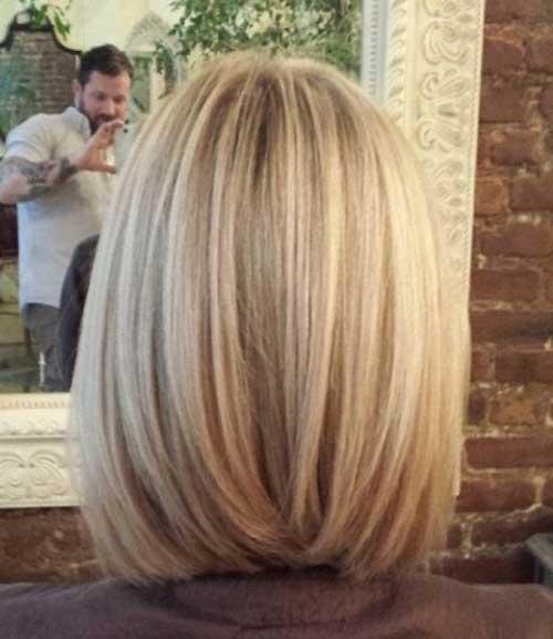 Bob Hairstyles Back View-6