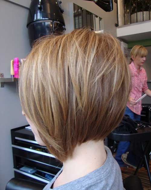 Awesome Short Hairstyle Back View Ideas - Styles & Ideas 2018 ...