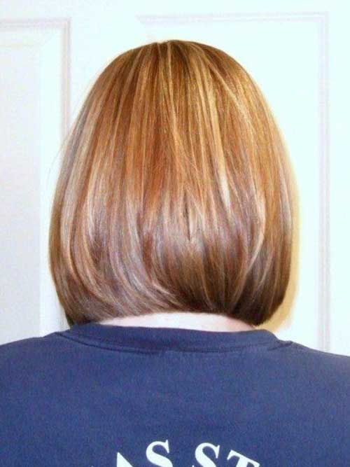 Back View of Bob Hairstyles