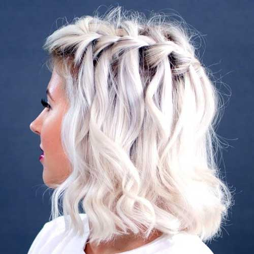 Eye-Catching Updo Hairstyles for Bob Haircuts | Bob Hairstyles 2018 - Short Hairstyles for Women