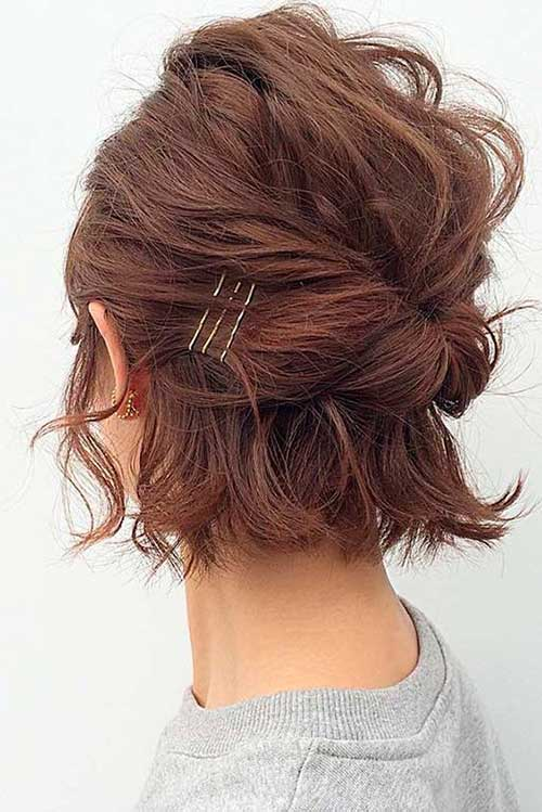Updo Hairstyles for Bob Haircuts-14