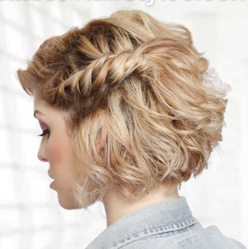 Eye-Catching Updo Hairstyles For Bob Haircuts