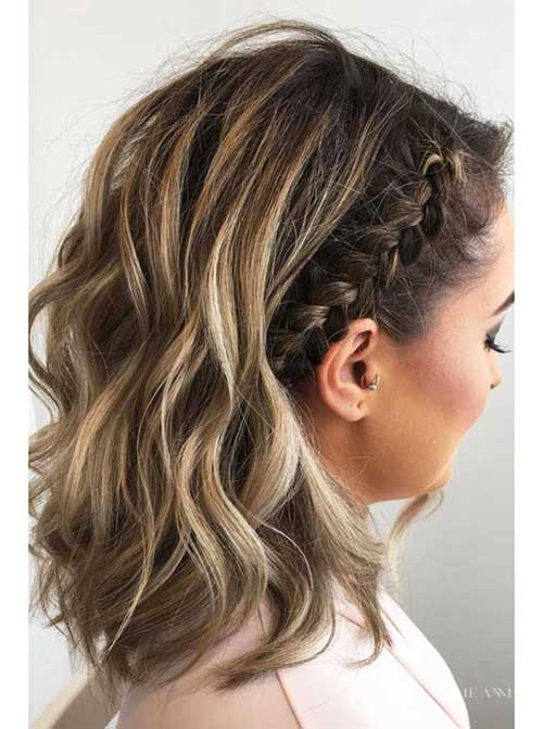 Eye Catching Updo Hairstyles For Bob Haircuts Bob Hairstyles 2018