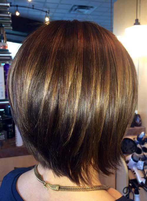 Brunette Bob Hair Styles