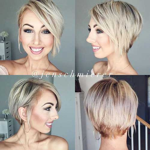 Amazing Graduated Bob Haircuts for Ladies | Bob Hairstyles 2017 - Short Hairstyles for Women