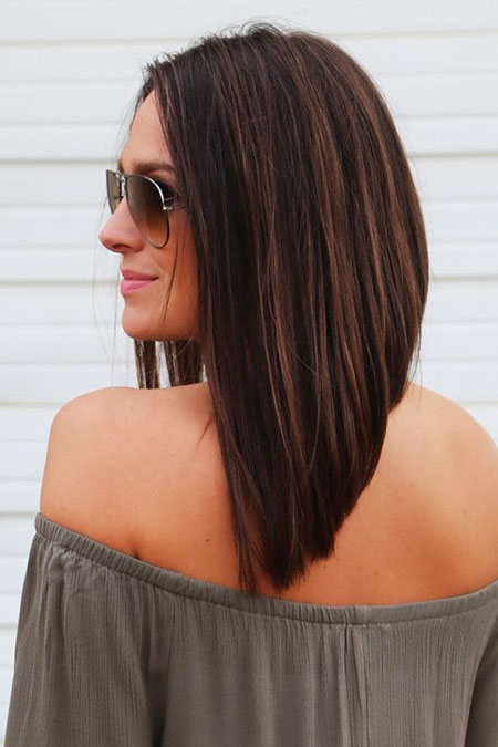 Bob Long Angled Short Lisa Easy Dry Daily Bobs