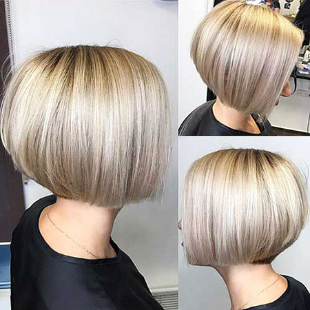 Bob Short Bobs Blonde Women Really Modern Long