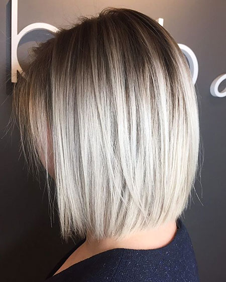Bob Bobs Blonde Chopped Textured Sarah Layered Fine