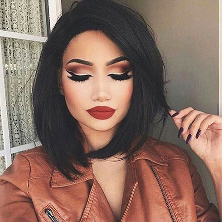 Red Lips Winter Trends Maquillaje Dark Blacks Amrezy