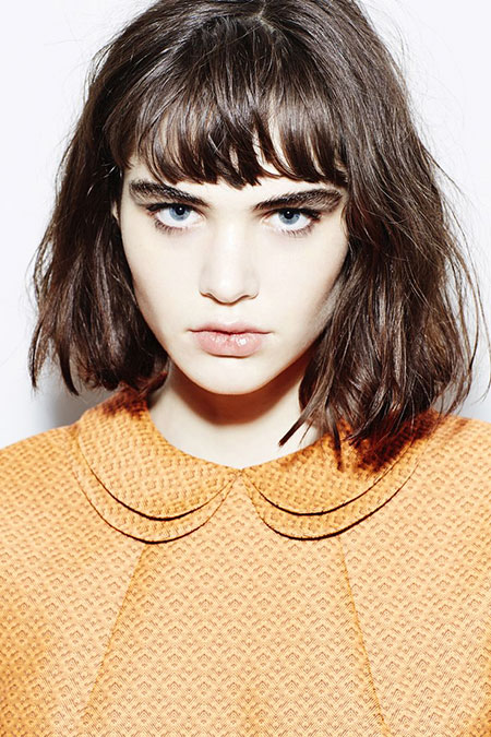 Bangs Fringe Zooey Up Taylor Summer Soft Messy Line