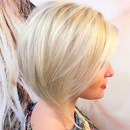 Blonde Platinum Bobs Bob Short Wavy Low Fine Beach