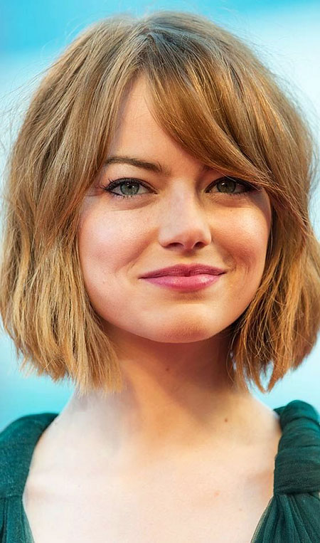 Short Bob Round Womens Stone Shape Faces Face Emma