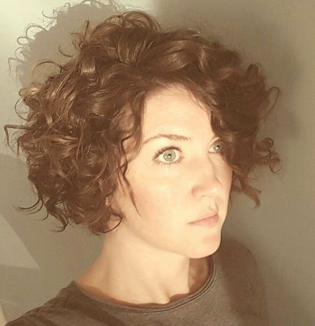Curly Short Natural Bob Sassy Loose Curls Curl