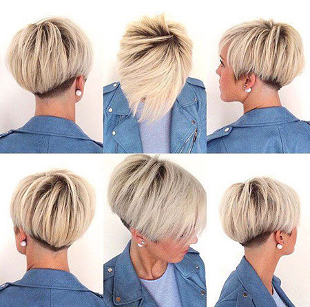 Short Pixie Under Korte Kapsels Fine Bob 207