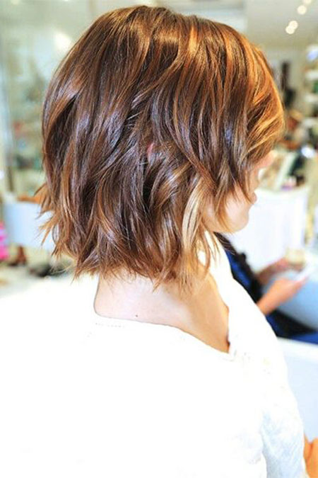 Bob Short Shag Medium Length Balayage Trends Texture