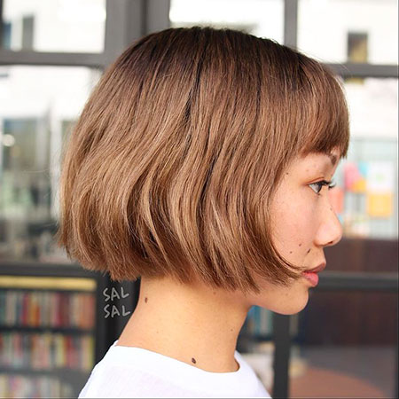Bob Trend Summer Short Bobs Bangs