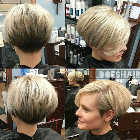 Short Pixie Bob Fashion Under Korte Kapsels