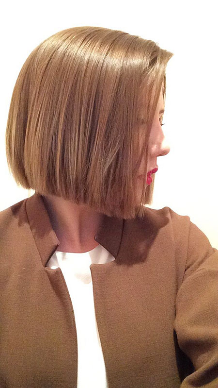 Short Bob Blunt Women Length Full Chin Bobs 20