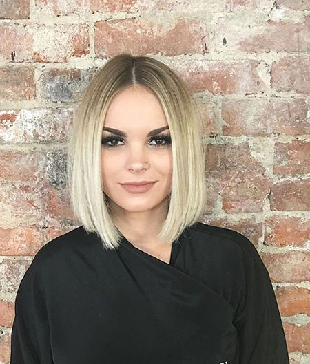 Bob Blonde Short Rae Lob Carly Blond