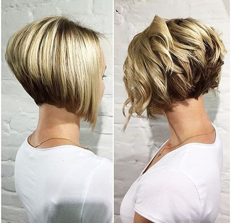 Short Bob Women Bobs Blonde Balayage Under Trendy