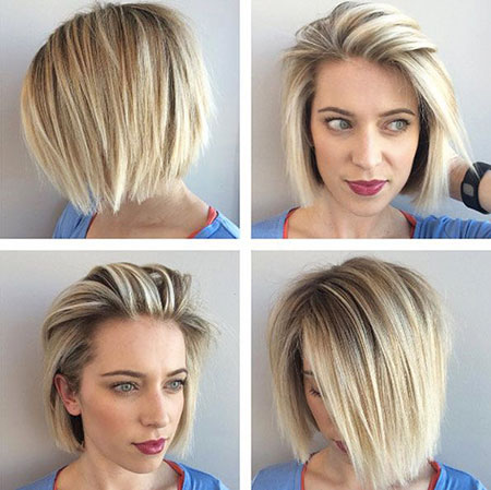 Short Straight Bob Textured Texture Summer Shaggy Pixie