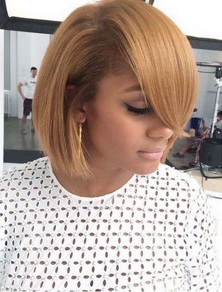 Bob, Women, Short, Black, Side, Long, Braided, Bobs