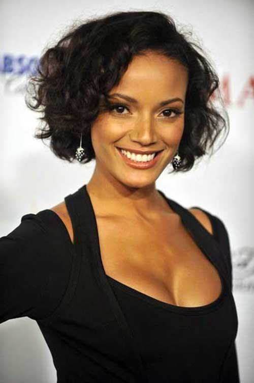 Naturally Curly Bob Hairstyles-6