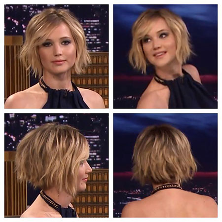 Short Lawrence Bob Jennifer Choppy Bobs
