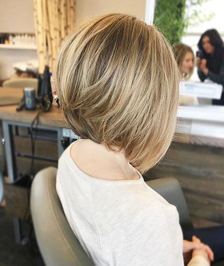 Medium A Line Bob Haircuts