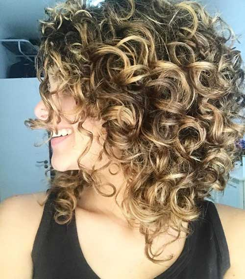 Naturally Curly Bob Haircuts