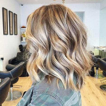 Blonde Balayage Trending Summer Short Ombre Long