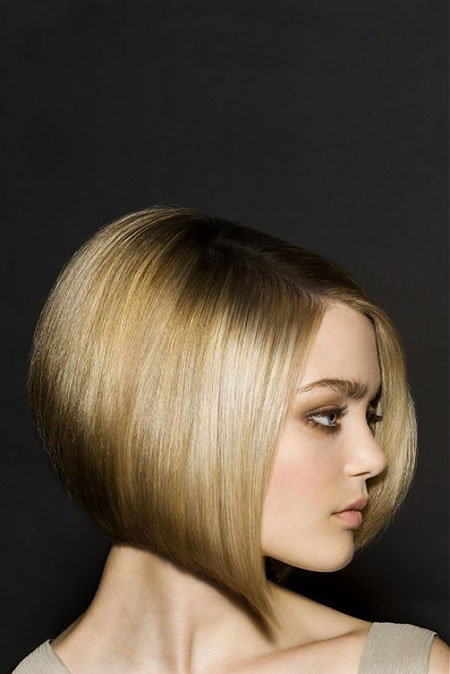 Bob Women Short Inverted Bobs Season Reverse Cute Blonde