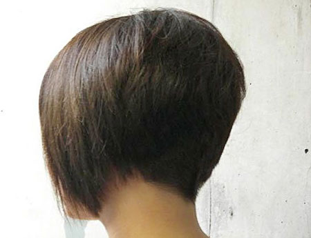 Bob Short Denman Line Layered Flat Bobs Bobbed Back Angled