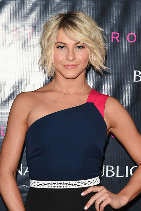 Julianne Hough Bob Short Messy Lawrence Jennifer