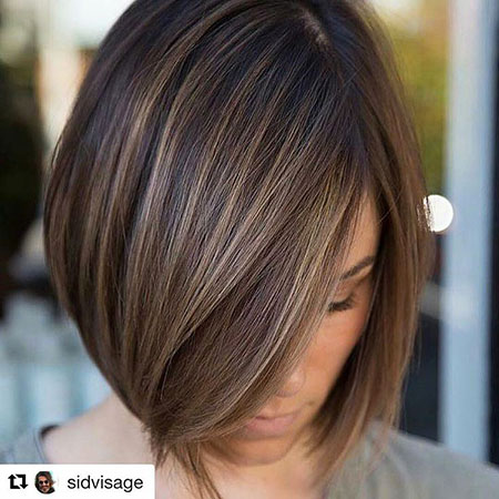 Highlights Bob Layered Texture Short Fine